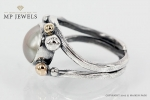 Jewellery By Maiken Pade Pearl Ring