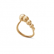 Moonlight Grapes ring 18 kt rosa guld