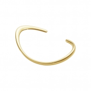 Offspring open bangle 18 karat