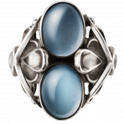 Georg Jensen Moonlight Blossom ring