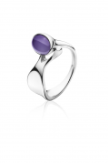 Dew Drop ring med amethyst