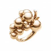 Moonlight Grapes ring 18 kt. - Medium