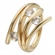 Christina Ring - Balance Love, Gold Plated
