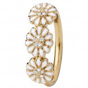 Christina Ring - Marguerite Love, Gold Plated