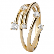 Christina Ring - Your Choice, Gold Plated