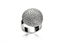 Sif Jakobs ring - Comachio white