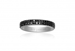 Sif Jakobs ring - Corte due black