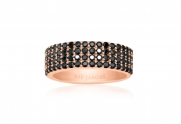 Sif Jakobs ring - Corte Quattro black