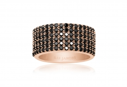 Sif Jakobs Ring - Corte Cinque Black