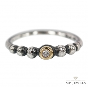 Jewellery By Maiken Pade Bubbles Summer Ring